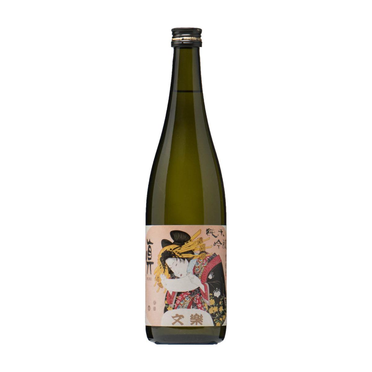 saké japonais Bunraku Pure junmai ginjo