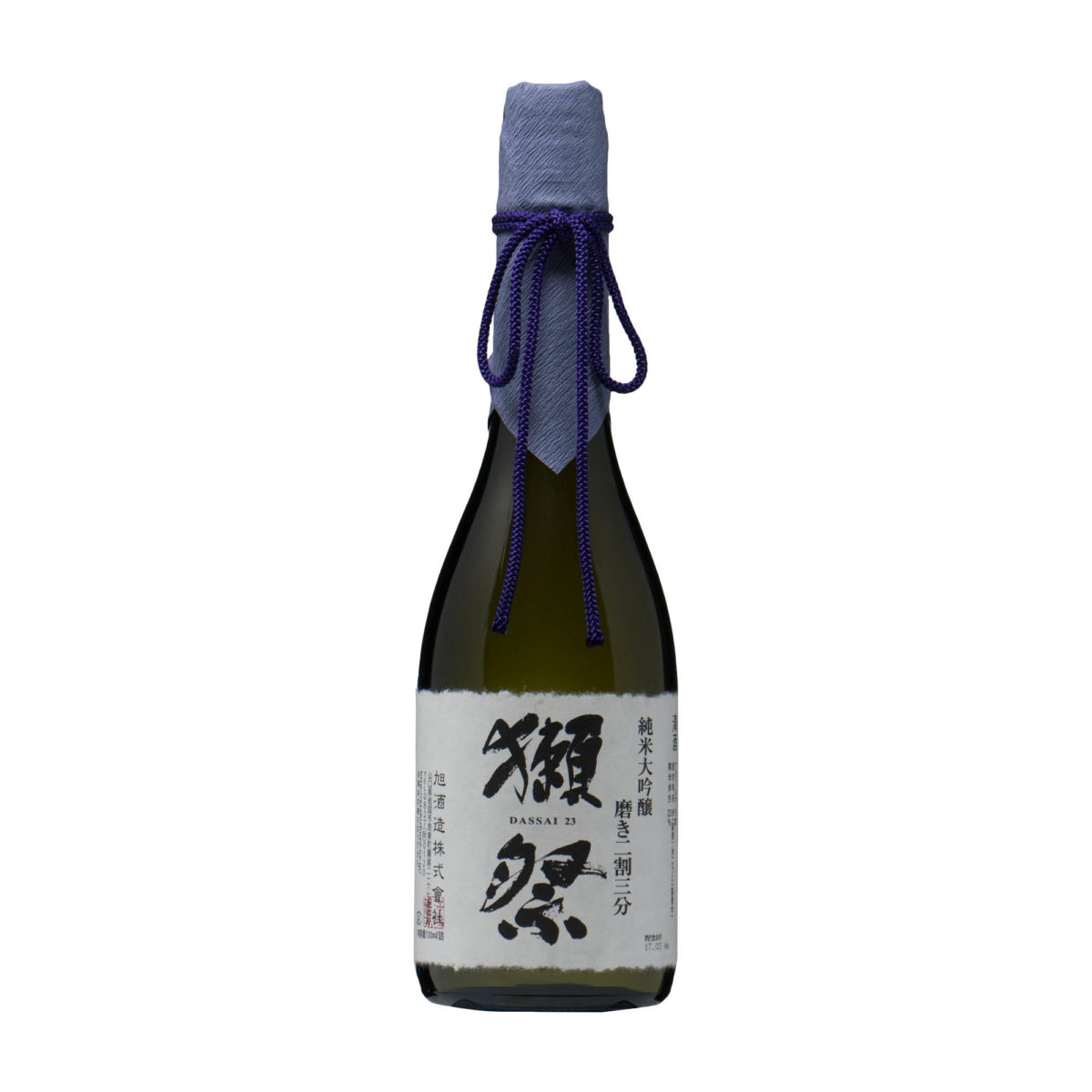saké japonais Dassai23 junmai daiginjo